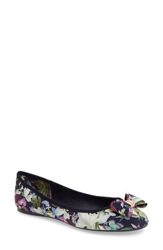 ab135a3d7998 Ted Baker London Ted Baker London Immep Bow Flat (Women) available at   Nordstrom