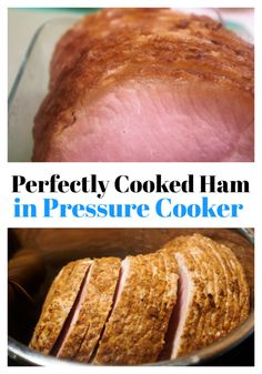 This is the best pressure cooker ham recipe that you will find.