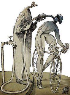 repostando en bici
