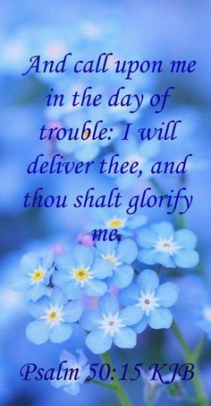 call upon me in the day of trouble: I will deliver thee, and thou shalt glorify me. PSALM call upon me in the day of trouble: I will deliver thee, and thou shalt glorify me. Bible Verses Quotes, Bible Scriptures, Faith Quotes, Biblical Verses, Bible Prayers, Psalm 50 15, Soli Deo Gloria, Jesus Christus, Favorite Bible Verses