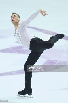 Adam Rippon of United States competes during Senior Men's Free Skating on day three of the ISU Junior and Senior Grand Prix of Figure Skating Final at Palais Omnisports on December 10, 2016 in Marseille, France.