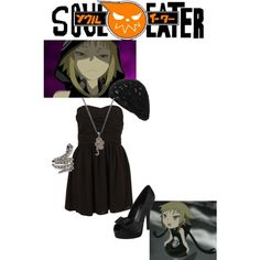 Soul Eater- Medusa Not my favorite character but I do love the pairing of the dress, shoes and accessories.