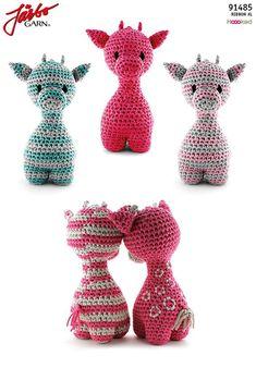 Giraffen Ziggy - Best Image Giraffe In The Word Crochet Giraffe Pattern, Crochet Patterns Amigurumi, Crochet Toys, Crochet Baby, Free Crochet, Knit Crochet, Giraffe Toy, Crochet Accessories, Crochet Animals