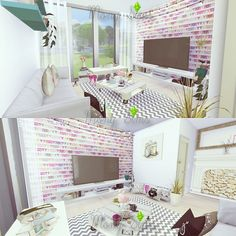 Mony Sims: Give me Inspiration Living • Sims 4 Downloads