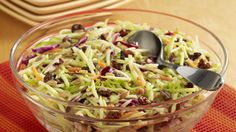 ReadySetEat - Sweet and Tangy Broccoli Slaw - Recipes
