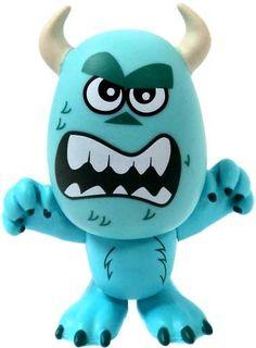 Amazon.com: Funko Disney / Pixar Mystery Mini Vinyl Figure Sulley [Angry Face]: Toys & Games