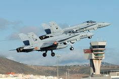 Spanish Air Force's EF-18