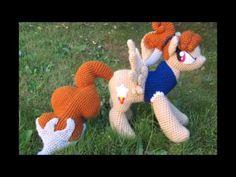 pony amigurumi tutorial - YouTube