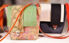 The small shoulder bag - a video tutorial - nähen-kl u gr Taschen - Free Sewing, Hand Sewing, Sewing Hacks, Sewing Projects, Next Jeans, Diane Von Furstenberg, Sewing Courses, Popular Bags, Sewing Class
