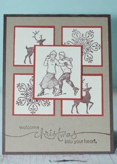Welcome Christmas by roseluvseric - Cards and Paper Crafts at Splitcoaststampers