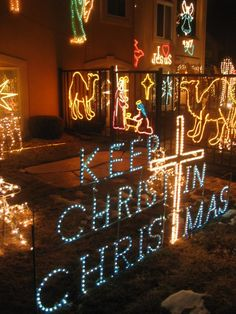Outdoor Nativity Sets. See More. Christmas Lights Funny 11