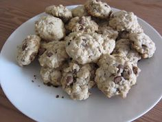 Oatmeal Chocolate Chip Cookies, for members of Raisins Stay the F Away From My Cookies lol