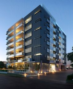 The organic design by dkoarchitecture for the the Eve apartments