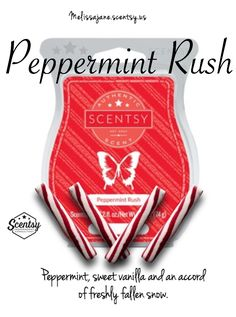 Scentsy 2016 | Peppermint Rush | New release | Fall & Winter | #scentsy…