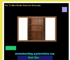 How To Make Wooden Bookcase Runescape 201108 - Woodworking Plans and Projects!