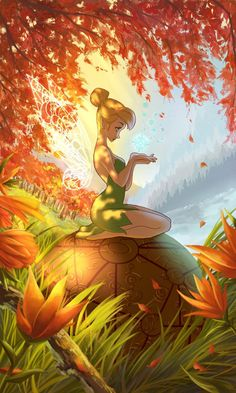 Tinkerbell and the map from Treasure Planet Tinkerbell And Friends, Tinkerbell Disney, Tinkerbell Fairies, Tattoo Tinkerbell, Disney Princess, Disney Fan Art, Disney Love, Disney Magic, Tinkerbell Wallpaper