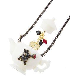disney choker disney necklace disney jewelry Alice in Wonderland cosplay White Rabbit inspired choker disney Princesses
