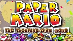Mail for the Mario Brothers - Paper Mario: The Thousand-Year Door