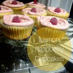 Lemon Raspberry Cupcakes   Recipe