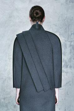 DZHUS resuscitates Totalitarian aesthetic for Autumn Winter 2015 fashion collection