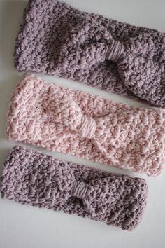 Ear Warmer Crochet PATTERN Knotted Ava Ear Warmer Crochet | Etsy