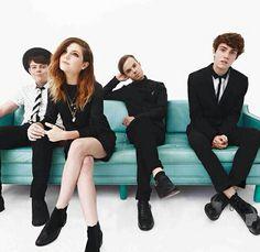 Graham, Sydney, Jamie and Noah.