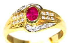 Natural Diamond Ruby 18K Yellow Gold Solitaire Ring [R011... https://www.amazon.com/dp/B00BRJ3IPM/ref=cm_sw_r_pi_dp_Br2ExbWSDCQTS