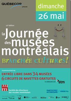 Participez à la Journée des musées montréalais! Un événement incontournable et unique à ne pas manquer!