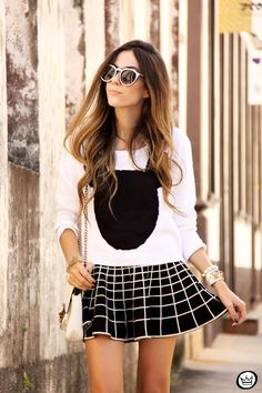 Fashion Coolture: Popular Indie Block Cut Pattern Round Womens Sunglasses 9157
