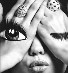 hand painted eyes