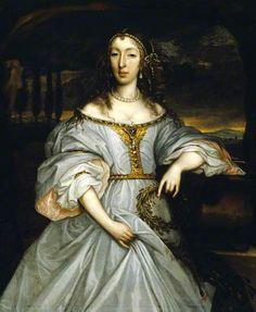 John Michael Wright (1617 – 1694)  Lady Anne Somerset, Lady Howard
