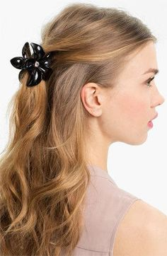 how to put your hair up in updo using a jaw clip  lamps