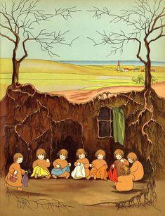 Los niños de las raíces,  Sibylle von Olfers