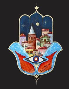 Fatma'nın Eli (Hamsa) ve Galata Minyatür-Taner Alakuş