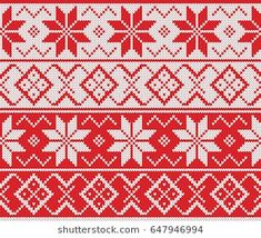 Winter Sweater Fairisle. Seamless Knitting Pattern Ethnic Patterns, Knitting Patterns, Christmas Knitting, Winter Sweaters, Loom, Knitwear, Christmas And New Year, Projects To Try, Blanket