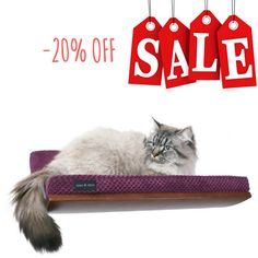 SALE! 20% OFF discount cats shelves curved perch play furniture plywood shelf cat perch cats furniture modern bed for cat cat shelf design by CosyAndDozy on Etsy