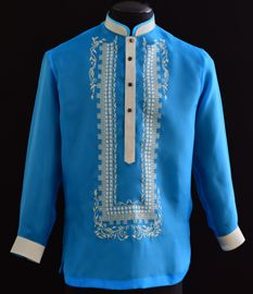 Royal Blue Barong Tagalog - Barongs R us Philippines Fashion, Philippines Culture, Barong Tagalog, Filipiniana Dress, Filipino Culture, Line Shopping, Burgundy Color, Royal Blue, Mens Fashion