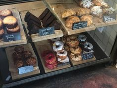 Maple Bacon and Chocolate Rose Donuts from Dynamo Donut at The Mill in San Francisco, California via FoodWaterShoes