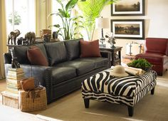 Havertys Furniture. Safari Living RoomsSafari ThemeSafari Room ...