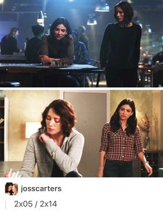 Alex and Maggie being supportive girlfriends <3