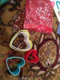 Toddler busy bags - cookie cutter nesters