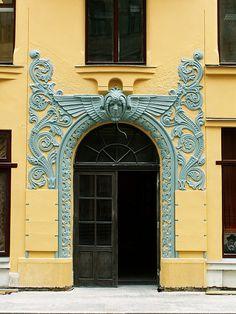 Rīga - Meistaru iela by jaime.silva, via Flickr