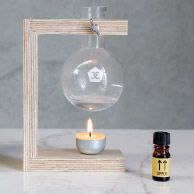 Compact Oil Burner from Page Thirty Three - www.pagethirtythree.com