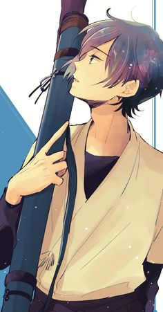 He's a nice boi,i would give him my last remaining ferrero rocher. Dark Anime, Cute Anime Guys, Awesome Anime, Manga Anime, Anime Art, Kyoto Animation, Anime Profile, Anime Sketch, Anime Scenery
