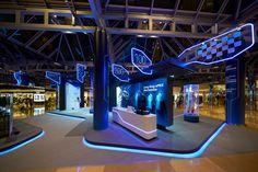 Pop Up Exhibition Space Design for Formula e Hong Kong