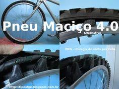 Foto: Pneu Maciço Alternativo versão 4.0 - Ideia de pneu de bicicleta sem câmara…