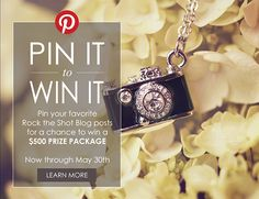 Rock the Shot Pin It to Win It Contest