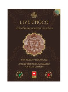 Rohe Bio Schokolade mit Agave - 67% Bourbon Vanille, Personalized Items, Live, Cocoa Butter, Foods