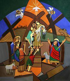 Dieux seul fils affiche imprimer Jesus Dieu vendredi Saint