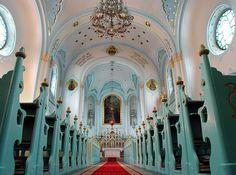 The Blue Church (St. Elisabeth's) - Bratislava, Slovakia.